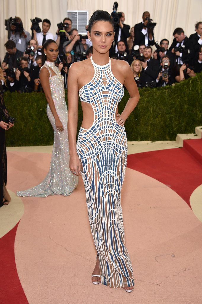 Kendall Jenner at Costume Institute Gala in New York City