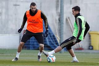 El Real Madrid arranca la semana entrenando a tope