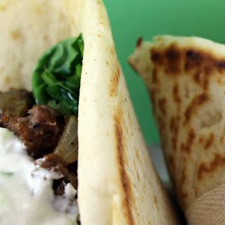 Lamb Wraps with Tzatziki Sauce