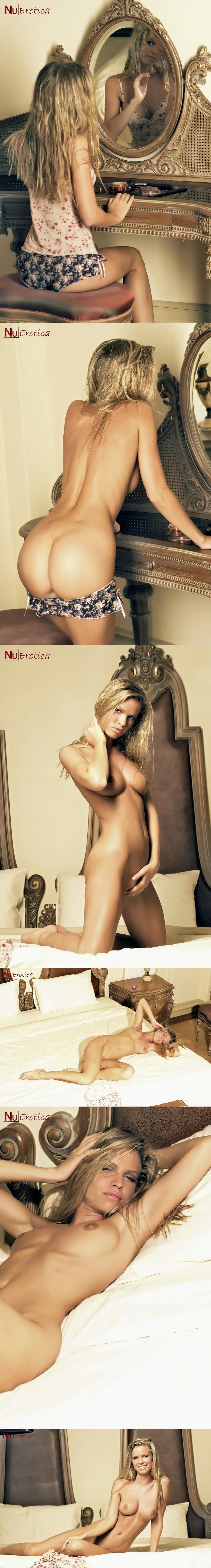 NuErotica 2015-08-15 Marketa Belonoha - Marketa Hot Blonde Gets Nude