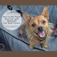 Review & Giveaway: How to Pet Proof your Car with 4Knines® Car Seat Cover