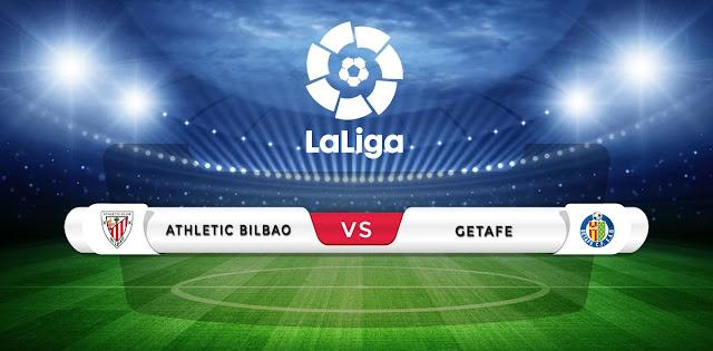 Athletic Bilbao vs Getafe Prediction & Match Preview