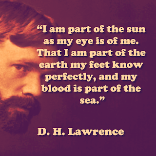 D.H.Lawrence inspiring quotes