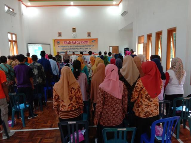 KodimKaranganyar - Sertu Agung Wakili Danramil Hadiri Musyawarah Antar Desa
