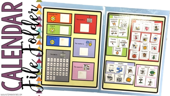 how to create calendar in b folders