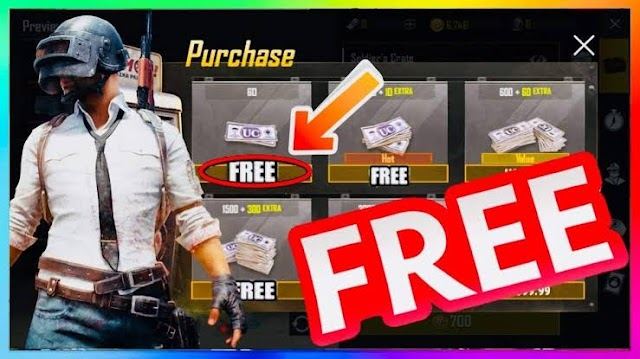 Get free unlimited pubg uc new private method