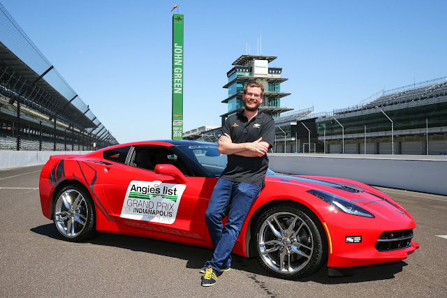 John Green Will Drive the 2016 Chevrolet Corvette Stingray Coupe