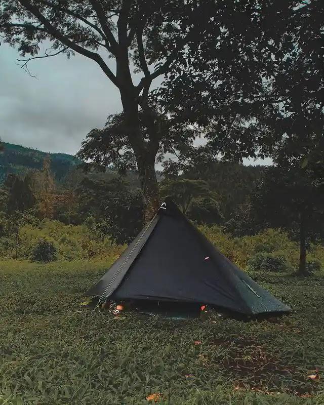Trap tent ultralight - foto instagram bsmxx__