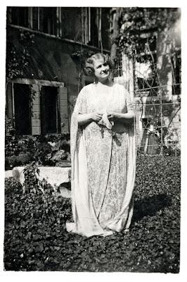 Alma Mahler in Venice in 1929