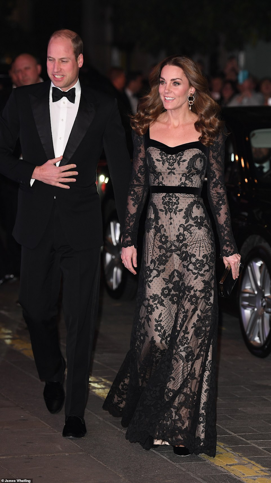 Prince William and Duchess Kate Attend the Royal Variety Performance at the London Palladium