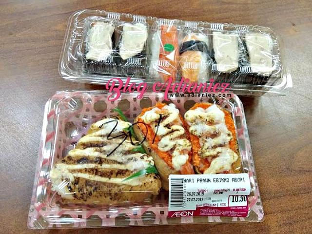 Anak & Ibu Lepak Makan Sushi di Food Court