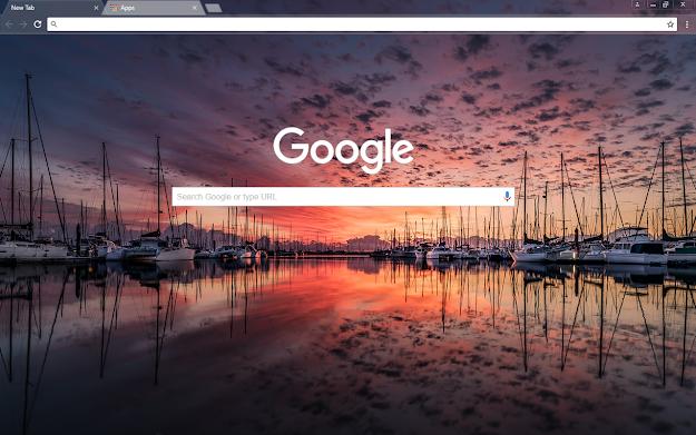 Boat Show Google Theme
