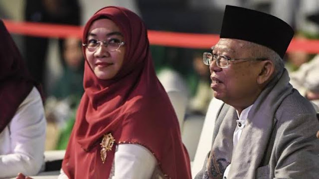Momen Jokowi Lupa Sapa Wapres, Maruf: Saya Suka Lupa Sapa Istri Jika Tegang