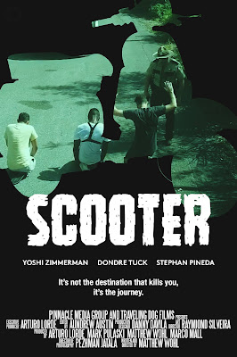 Official poster for Matt Wohl's SCOOTER.