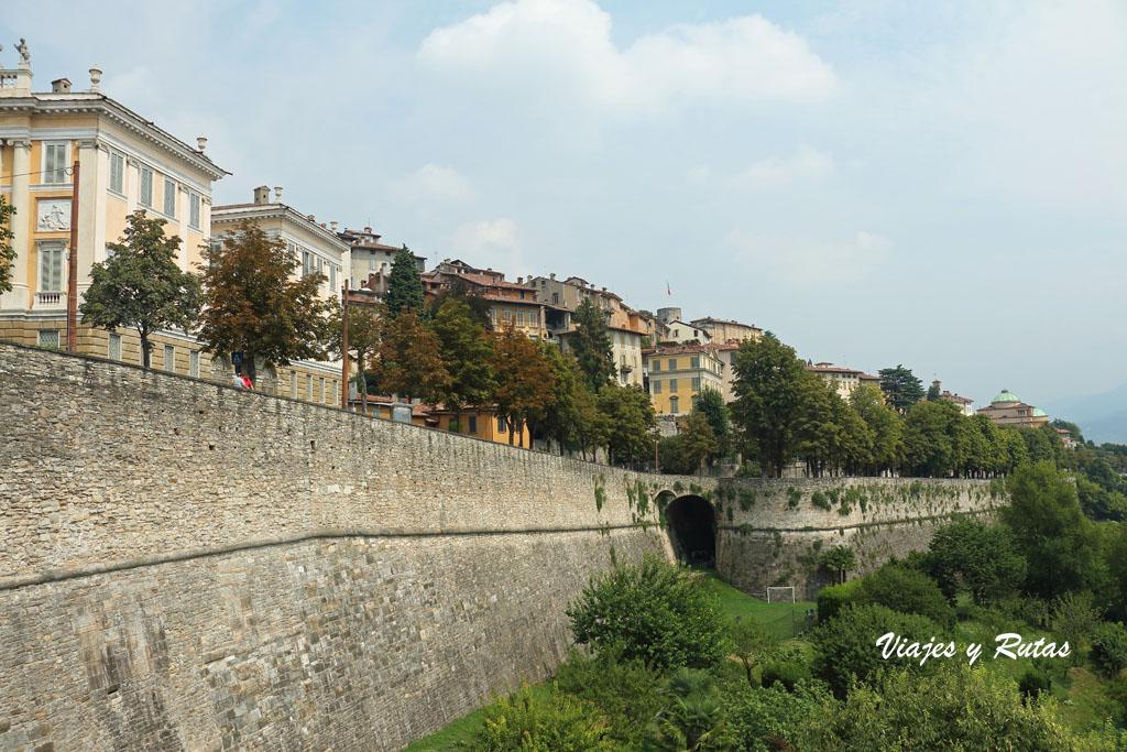 Muralla veneciana de Bergamo