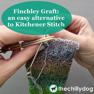Knitting Video Tutorial: The Finchley graft is an easy to remember alternative to the Kitchener stitch.