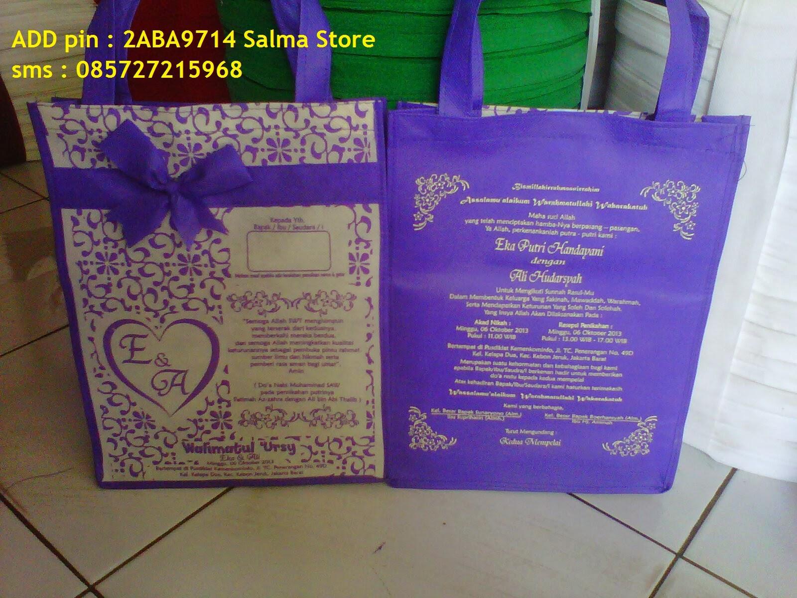 Koleksi Pesanan Undangan Pernikahan Batik Dg Alas September