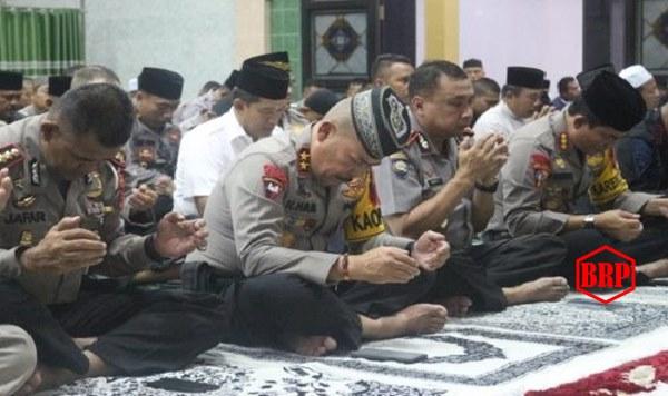 Sambut Hari Kemerdekaan Republik Indonesia Ke-74, Polda Kalteng Gelar Doa Bersama