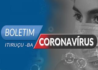 O municipio de Itiruçu registra a primeira morte por Covid-19