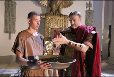 Pilatos lava as mãos