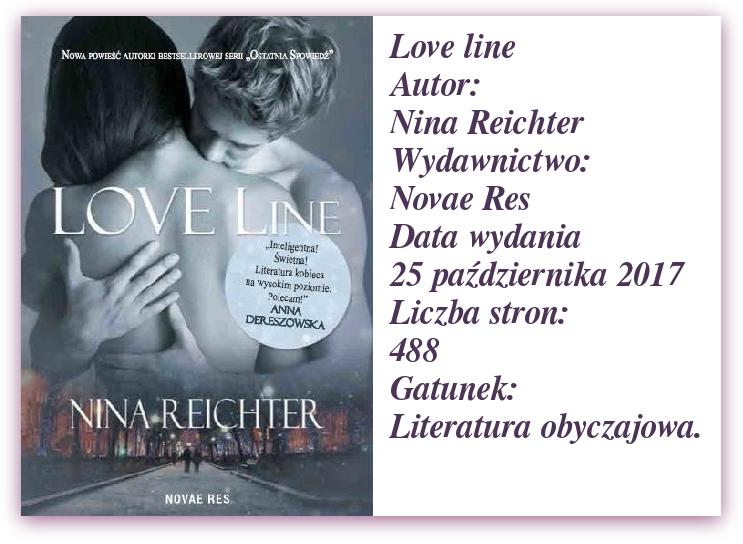 """Najnowsza książka Niny Reichter """"Love Live"""".  [PREMIERA JUŻ 25 PAŹDZIERNIKA!!!]"""