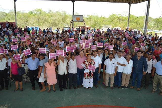 INPI Yucatán entrega más de 41MDP a productores mayas