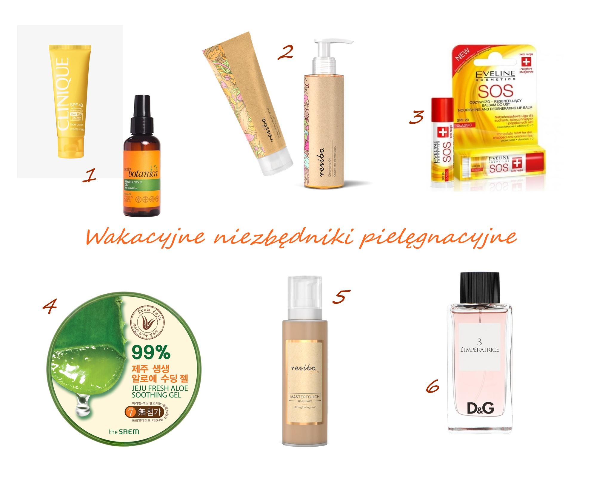 Letni niezbędnik pielęgnacyjny | Kosmetyki, które warto mieć w wakacyjnej kosmetyczce
