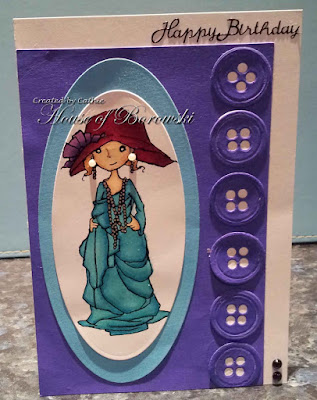 Diecut Divas, A Day for Daises Mom's Hat