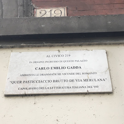 Targa Gadda pasticciaccio