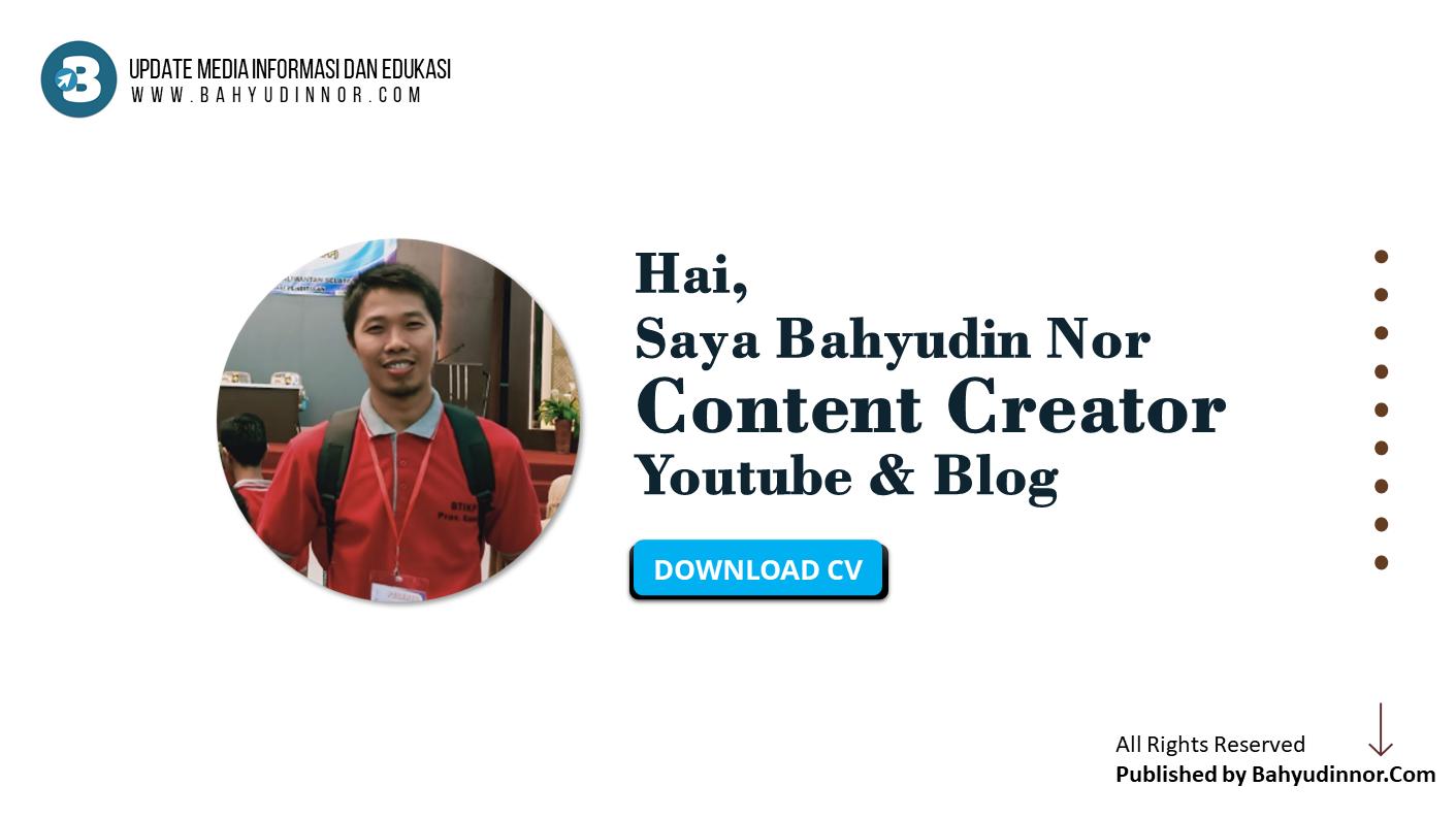 Profil Bahyudin Nor