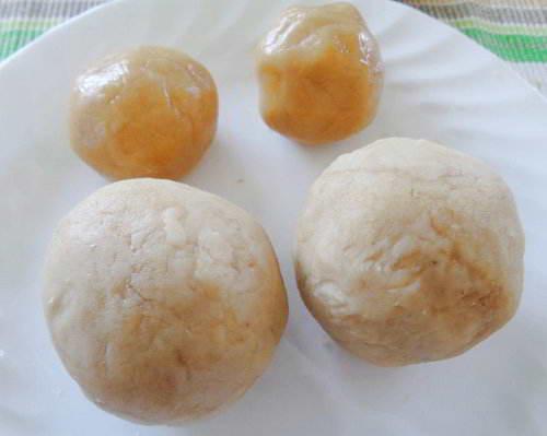 Bánh nướng nhân đậu trắng