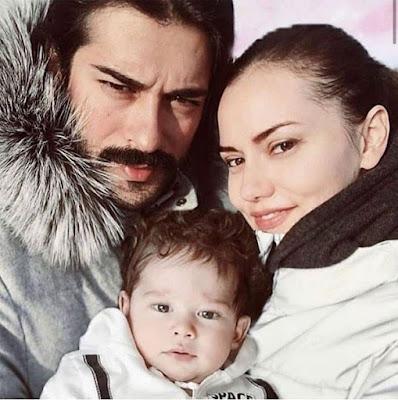 هكذا احتفل بوراك أوزجفيت بعيد ميلاد زوجته فهرية أفجان