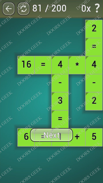 Math Games [Beginner] Level 81 answers, cheats, solution, walkthrough for android