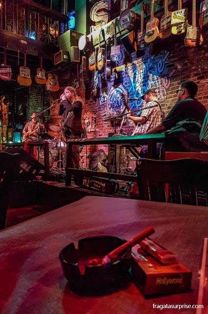 Show no Rum Boogie Cafe de Beale Street, Memphis