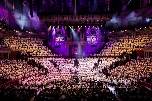 Choirs from AC Academy's Choir Creation scheme at the Royal Albert Hall in 2016