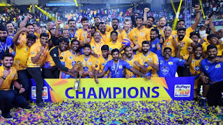 "Chennai Spartans Wins ""Inaugural Pro Volleyball League"" Title"