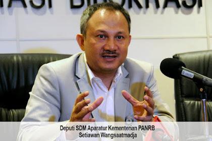 Honorer K2 yang Masuk Data Base BKN Akan Dituntaskan Hingga Tahun 2023 Lewat Jalur Tes CPNS/PPPK