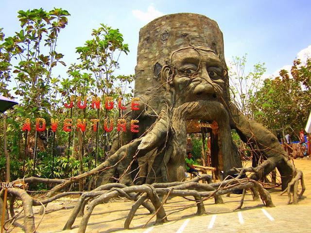 Rumah pohon Eco Green Park Kota Batu Malang Jatim