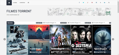Template Blogger filmes Torrent 01018