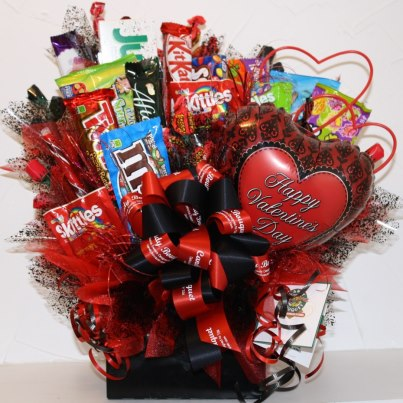 The Domestic Curator Valentine S Day Candy Bouquet