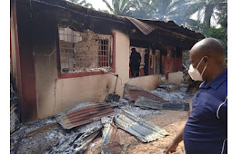 Over The 35 House Destroyed By Gunmen In Enugu, See Why The Police Didn't Stop Them