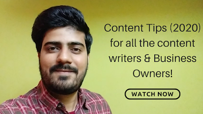content tips for 2020