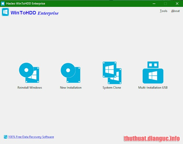 Download WinToHDD Enterprise 3.8 Release 1 Full Crack, Cách cài đặt win không cần DVD hoặc ổ USB, WinToHDD, WinToHDD free download, WinToHDD full key, WinToHDD full crack