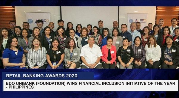 BDO Unibank, BDO, BDO Foundation, We Find Ways, Asian Banking & Finance, Singapore publication, Philippines, bank, advocacy, financial literacy, financial inclusion advocacy, Covid-19 pandemic, Covid-19, economic crisis, money, financial wellness, Bangko Sentral ng Pilipinas, Overseas Workers Welfare Administration, OFW, BDO Foundation president Mario Deriquito, Retail Banking Awards, Asia-Pacific banks