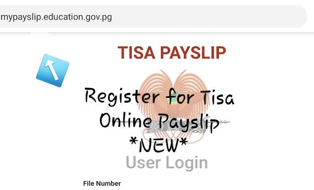 Online payslip log in