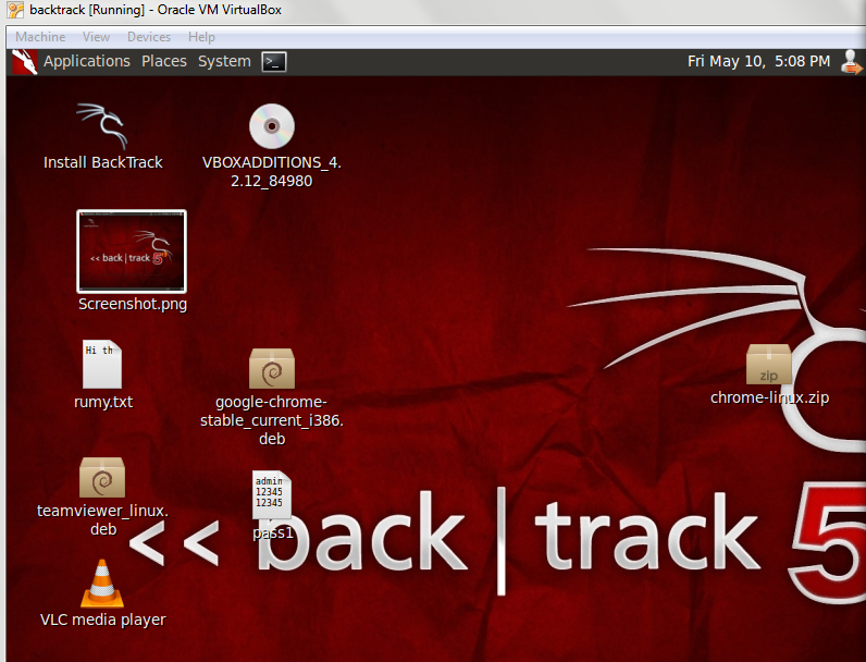 Installing Backtrack 5 R3 In Virtual Box Step By Step | Rumy IT Tips