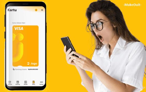 Cara Buat Kartu Debit Bank Jago (Fisik dan Digital)