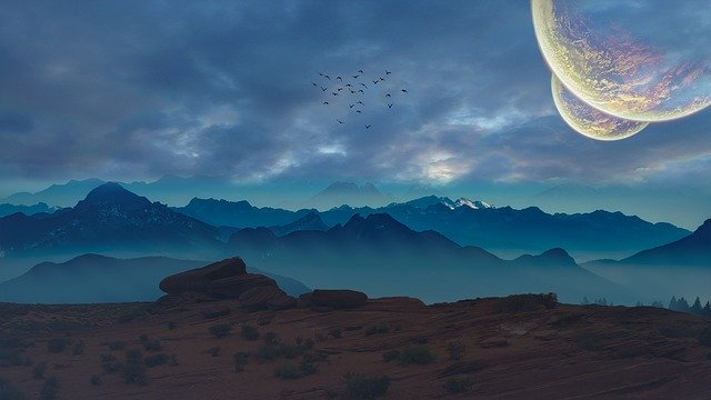 Planets 4K wallpaper