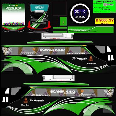 livery haryanto hijau hitam
