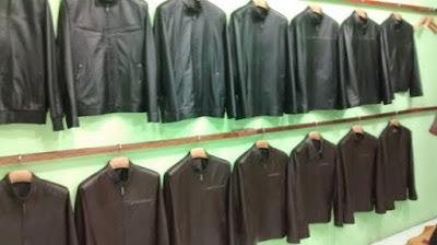 Gambar Industri Jaket Kulit Garut
